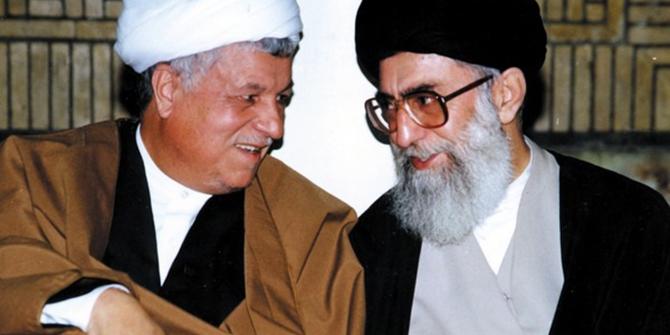 Rafsanjani and Khamenei