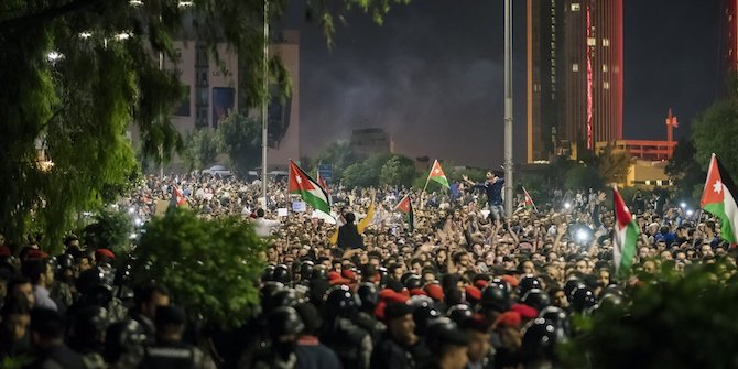 The Recent Protests in Jordan and the Way Forward: Renegotiating the Social Contract