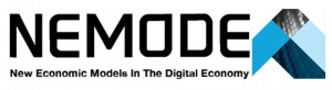 NEMODE logo with art