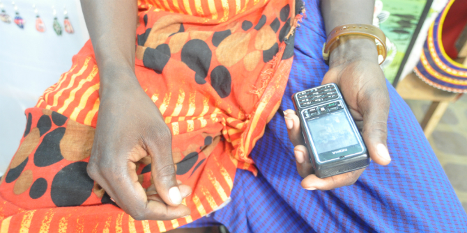 'The world in your hands': smartphones and women's connectivity in Sudan