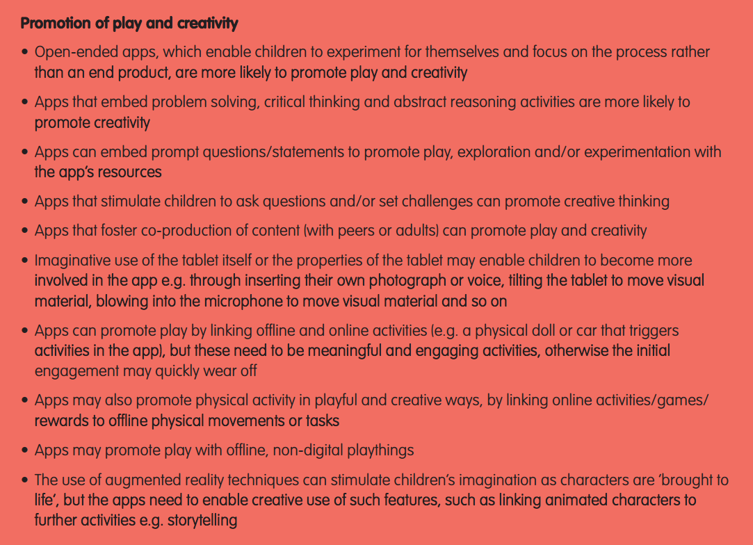 Tech and Play_Promotion of play and creativity
