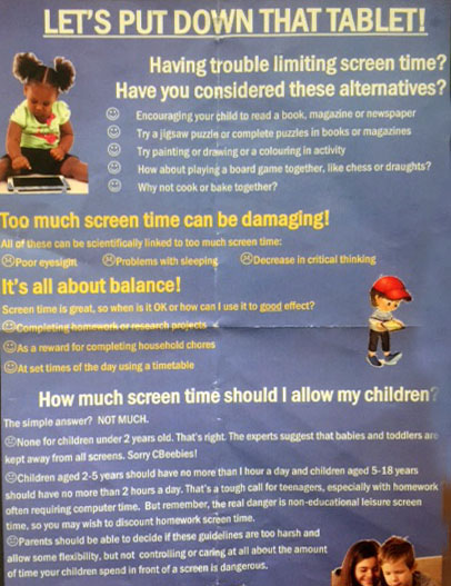 Parenting for a Digital Future – Tablet totalitarianism