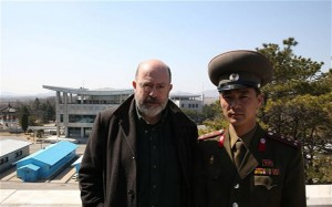 'Professor' John Sweeney in North Korea