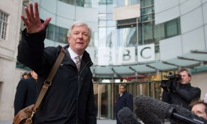 Tony Hall: in charge at the BBC