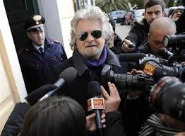 Beppe Grillo - the anti-media politician?