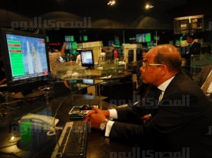 Watching Egyptian journalists watching a revolution