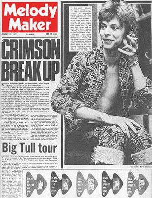 bowie melody maker