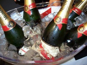 Encore du champagne?