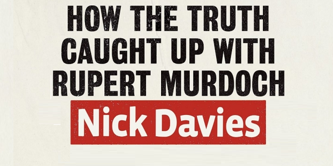Nick Davies and journalism's bullying culture