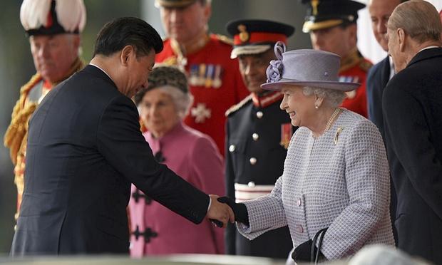 xi jinping meets queen