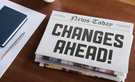Changes ahead headline c.Thinkstock