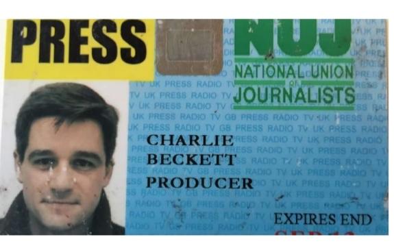 Press Card Polis Cb –