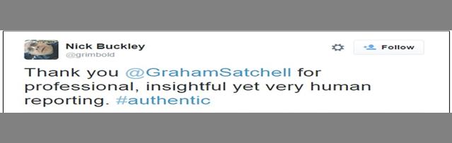 Satchell tweet