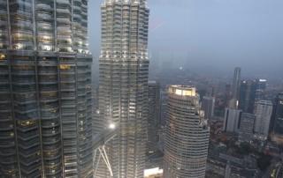 Petronas Twin Towers in Kuala Lumpur, Malaysia