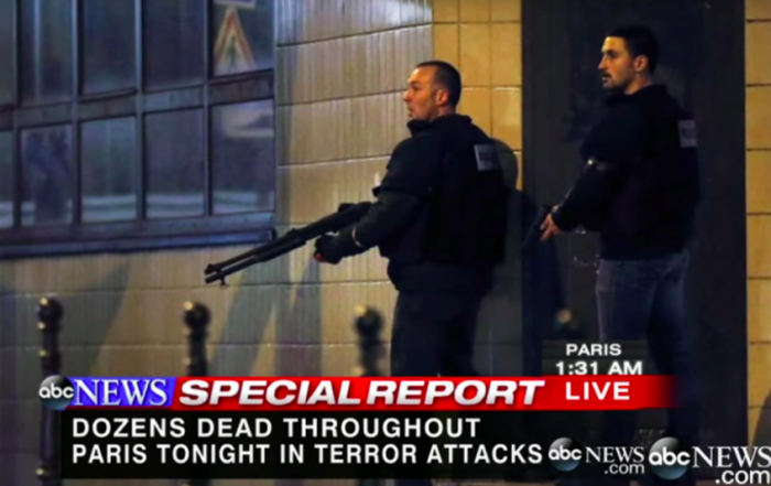 Fanning the flames: reporting on terror in the networked age