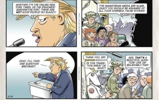 Doonesbury with a prophetic take on the liberal nightmare that came true