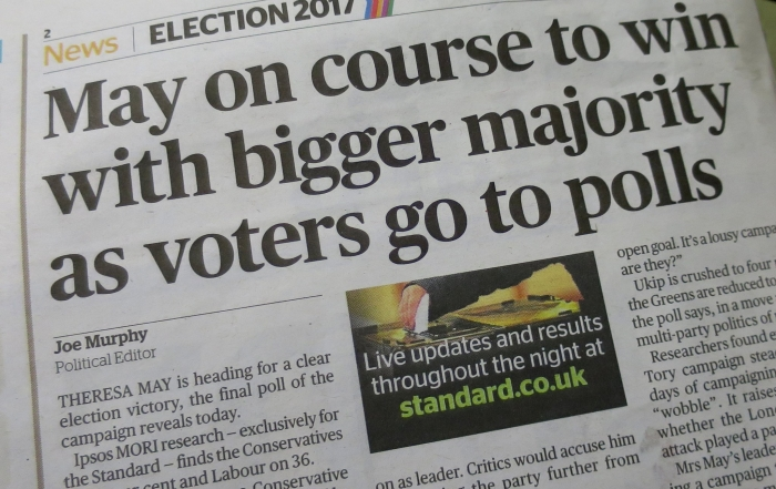 How we report elections: time for a new agenda for political journalism after the 2017 shock?