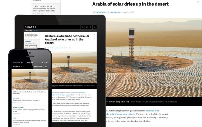 Quartz: mobile journalism for the smartphone world (Polis Summer School guest blog)