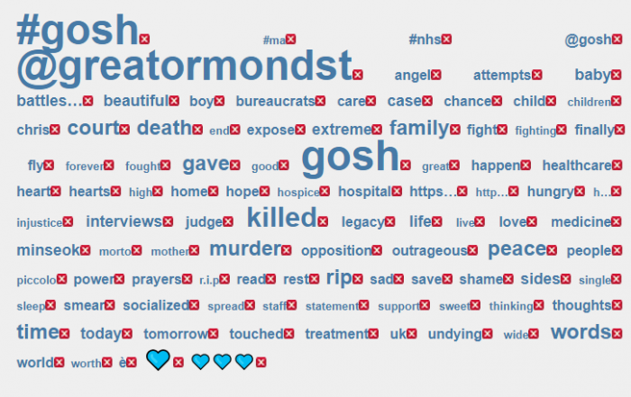 The Charlie Gard twitterstorm: a violent and negative impact (new research)