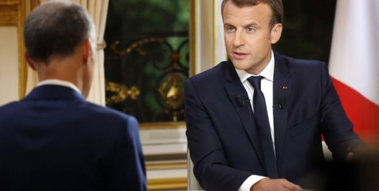 Something 'sacred': Has Macron created a new political media strategy?