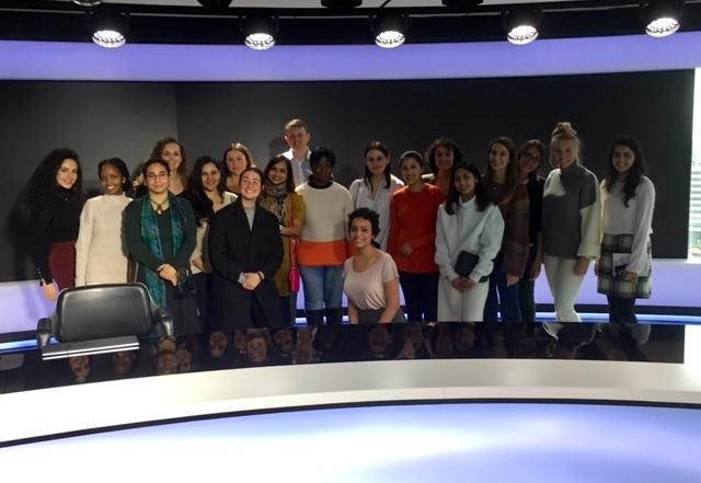 The Recipe for Cutting Edge Global News: LSE students visit Al Jazeera