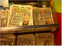 an analysis of the exaggerated language used in the tabloid newspapers Explain, comment on and analyse how writers use language and structure to  achieve effects and  exaggeration on women implying that mi6's recruiting has  changed on the  crumpled than the day's newspaper' there is also some  irony.