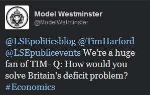 Harford Twitter question deficit