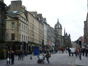 Edinburgh High Street (Credit: Kim Traynor)