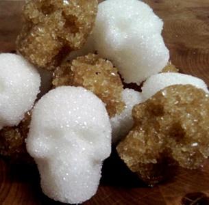 Cy-V skull sugar