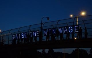 Raise min wage - Wisconsin Jobs Now