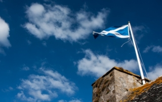 Scotland flag - Barney Moss CC BY 2.0