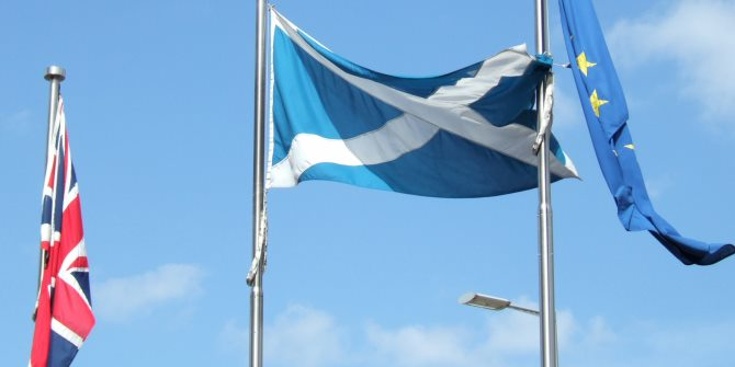 A 'Yes' vote in the Scottish referendum may well be a step closer to a Brexit