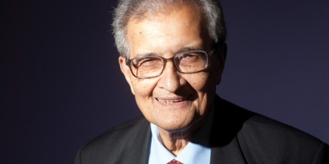 """Five minutes with Amartya Sen: """"I think that Piketty's conclusions mostly stand"""""""