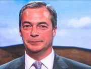 Farage on screen