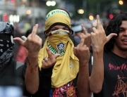 Protesters brazil