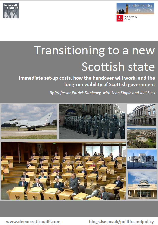 Transitioning to a new Scottish state