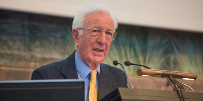"Five minutes with Richard Layard: ""Mental illness is the biggest single cause of misery in our society"""