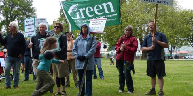 On current trends the Green Party will have a significant, if not decisive, impact on the 2015 election