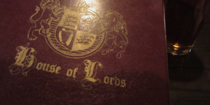 A small British Senate is the best alternative to the bloated and undemocratic House of Lords