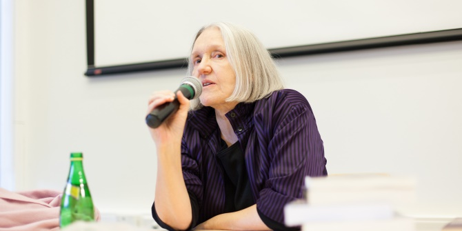 "Five minutes with Saskia Sassen: ""A good bit of the economic numbers rests on a sort of economic cleansing"""