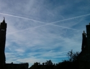 Saltire over st andrews