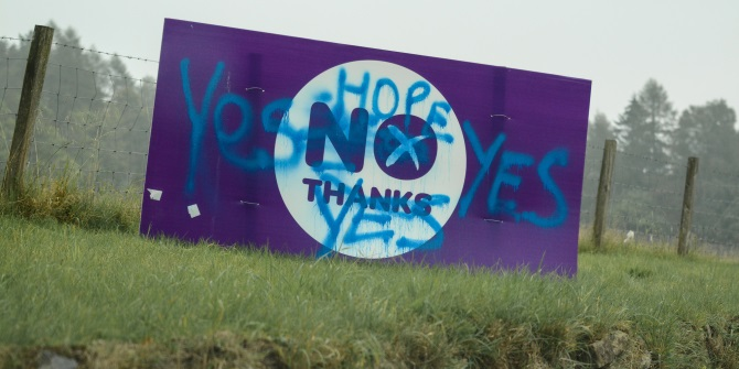 Regardless of whether it's a 'Yes' or a 'No' vote, the answer must be radical change