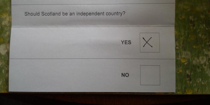 Essay on scottish independence