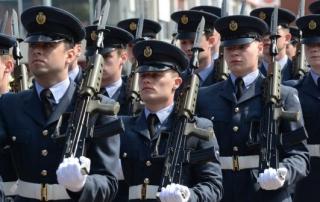 airmen march