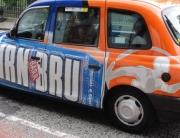irn bru taxi