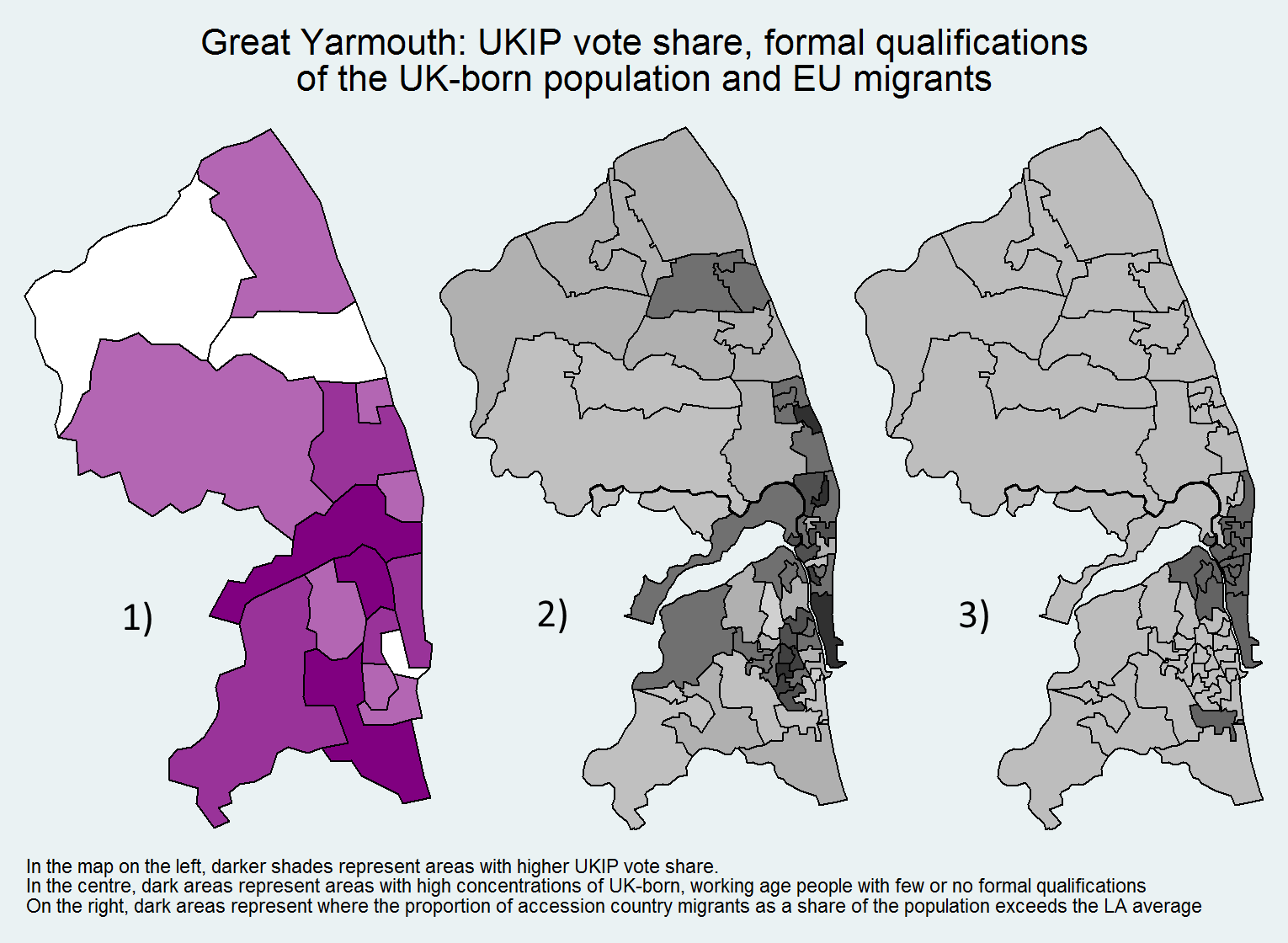 While We Cannot Be Certain That The Interaction Effect Between Accession Country Diasporas And Poorly Qualified Uk Born Residents Affects Ukip Support