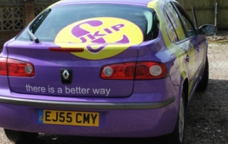 UKIP car