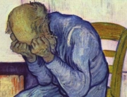 Van Gogh - old man sorrow
