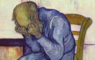 Van Gogh - old man sorrow