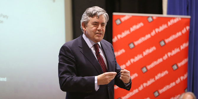 (Re)evaluating Gordon Brown: It's important to factor context into our assessment of political leaders